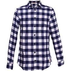 Das blaue #Hemd mit #Karos passt sowohl zu #Chinos als auch #Jeans ab 44,95€ ♥ Hier kaufen: http://stylefru.it/s476629 #lila