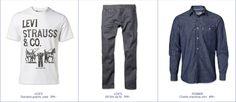 #MQ Levi Strauss & Co, Chambray, Blue Denim, Blues, The Selection, Zip, Pants, Shirts, Fashion