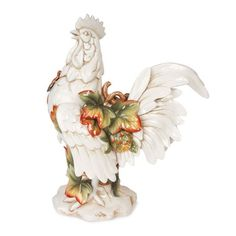 I pinned this Giardino Rooster Figurine from the Pastel Table event at Joss & Main!