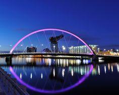 Glasgow, lurer på om jeg kommer til å dra dit en gang igjen....