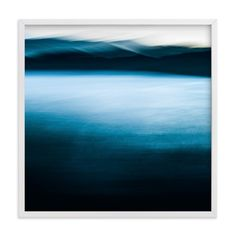 """lake and mountains"" - Art Print by Nicolo Sertorio in beautiful frame options and a variety of sizes."