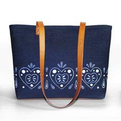 Veľká Kráska - rifľovo kožená kabelka - Srdce Louis Vuitton Monogram, Pattern, Bags, Handbags, Patterns, Model, Bag, Totes, Swatch