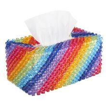 Rainbow Tissue Box Bubble Beads Kit