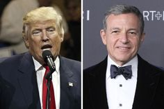 Disney's Bob Iger Lone Media Boss On Donald Trump's New Policy Forum Team