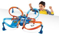 Superb Hot Wheels Criss Cross Crash Now at Smyths Toys UK. Shop for Hot Wheels Only at Smyths Toys At Great Prices. Hot Wheels Storage, Bow And Arrow Set, Christmas Gifts For Boys, Car Racer, Toys R Us Canada, Toys Uk, Hot Wheels Cars, Kids Store, Creative Kids