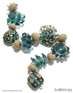 Deepwood Art Beads by Fran Lizardi « { Glass Bead Sets } - BeadArtists.org