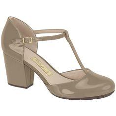 a14c62b58 Moleca - T-bar Heels with Patent Finish