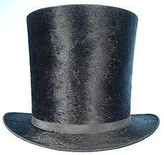 1840s-1860s Top Hat