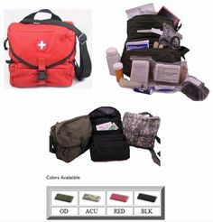 The M3 Medic Bag - MOLLE compatible military medic bag: Price-$57.00