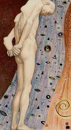 Golden Klimt -  9 - Der Eremit