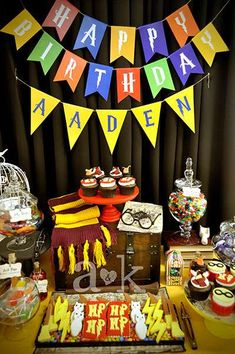 HOGWARTS / Harry Potter Birthday Party Ideas | Photo 3 of 15 | Catch My Party