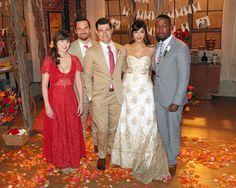 New Girl Wedding. Love Cece's dress
