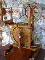 YARN GIRLS, THEY DO GET WOOLY: My Betty Roberts Spinning Wheel
