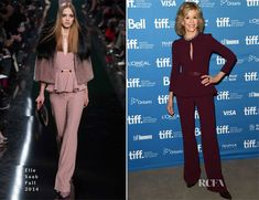 Jane Fonda In Elie Saab – 'This Is Where I Leave You' Toronto International Film Festival Press Conference