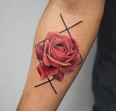 Rose tattoos for women are the latest in-vogue fashion. We cover the most popular rose tattoos for women, their meanings, and examples. Marigold Tattoo, Rose Flower Tattoos, Flower Tattoo Designs, Floral Tattoos, Orchid Tattoo, Design Tattoo, Butterfly Tattoos, Rose Tattoos For Women, Tattoo Designs For Women