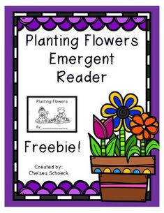 This is a Planting Flowers emergent reader in black and white. This is a read and write book, meaning that the book has a page at the end for students to complete.This is 7 pages long- cover, 5 with words/pictures, and the last page for students to write and draw.The book has many sight words for young readers to feel successful.It is also very easy to prep.