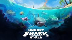 HUNGRY SHARK WORLD Spike / Stethacanthus Shark / Aviation Set / Power Up...