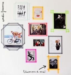 Washi Frames