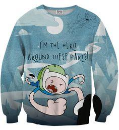 I'm Hero sweater, Mr. GUGU & Miss GO