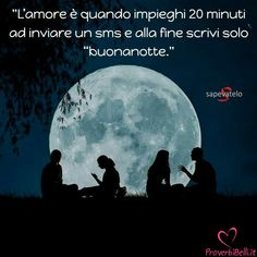 Immagini di Buonanotte - ProverbiBelli.it Number One, Moon, Celestial, Facebook, Movie Posters, Movies, Outdoor, Dolce, The Moon
