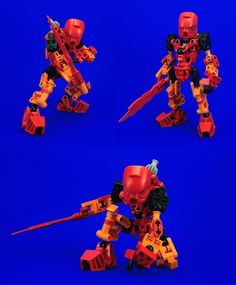 Bionicle - Tahu Re-Revamp by Lalam24.deviantart.com on @deviantART