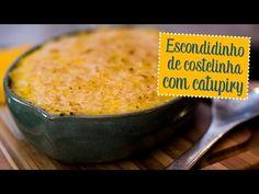 Escondidinho de costelinha com catupiry e purê de baroa - O Chef e a Chata - Chata de Galocha! | Lu Ferreira