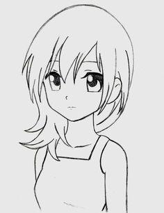 Bildergebnis für cute anime girl easy to draw
