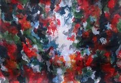 Small works Ⅳ-2014-07-21 380×540(mm) acrylic on paper