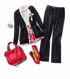 Tip: A cardigan is a great alternative for a blazer. #CareerShop #Kohls