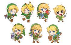 Chibi link is so cute