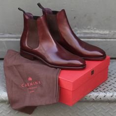 "Carmina Chelsa Boots "" Maden in Spain """