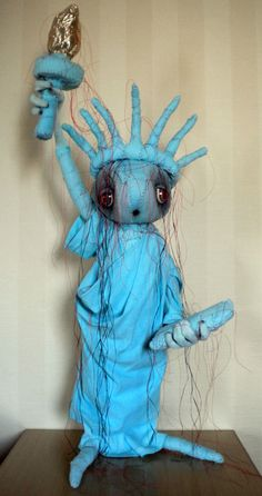 "Chatham Village Bears, ""Statue of Liberty"" Mummy"