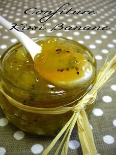 Confiture de kiwi et de banane (1 pt ww), Recette Ptitchef Healthy Eating Tips, Healthy Nutrition, Chutney, Ww Desserts, Vegetable Drinks, Food Menu, Dinner Tonight, Fruits And Vegetables, Brunch