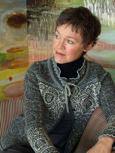 Oleana Alpaca Cardigan Design 80-D, Top Design 138-O  Norwegian Sweaters