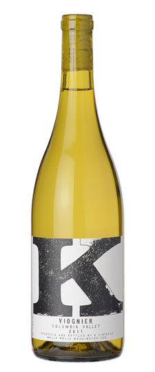 2011 K Vintners Columbia Valley Viognier  wine / vinho / vino mxm