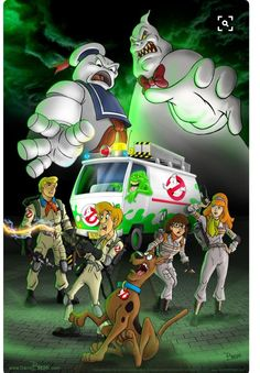 Scooby doo ghostbusters