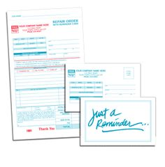 Thermal Paper Receipts Word Automotive Garage Repair Service Order Forms  Stuff To Buy  Ihop Receipt Excel with Tnt Invoicing Word  Compact Repair Order Form Wreminder Card And Carbons Design Invoice Example Pdf