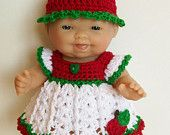 crocheted dolls clothes on Etsy, a global handmade and vintage marketplace.