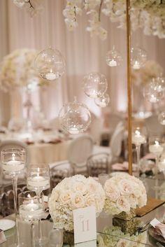 wedding reception decor idea; featured photographer: Jana Williams Photography
