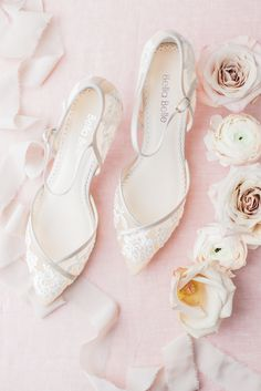 wedding shoes comfortable Classic Lace Wedding Shoe from Bella Belle. Experience the most comfortable wedding heel with hand-crafted delicate and beautiful lace details on a DOrsay shoe shape. Outdoor Wedding Shoes, Red Wedding Shoes, Designer Wedding Shoes, Wedding Heels, Lace Wedding, Wedding Ring, Best Bridal Shoes, How To Dress For A Wedding, Bride Shoes