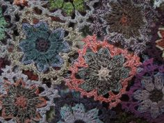Sophie Digard Yarn   primo crochet ...alice wool scarf close-up ... sophie digard ...