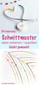 Enlarge / reduce the pattern itself - made easy - Schnittmuster - Easy Sewing Easy Sewing Projects, Sewing Projects For Beginners, Sewing Hacks, Sewing Tutorials, Sewing Tips, Sewing Patterns Free, Free Sewing, Sewing Clothes, Diy Clothes