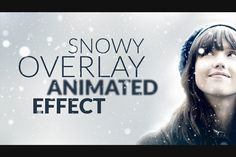 Snowy Animated Overlay in Photoshop by DesignSomething on Creative Market