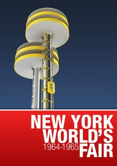 New York World's Fair /POSTERS/ by Jokūbas Mulerskas, via Behance
