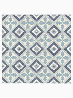 Vaporetto Torcello Lagoon 25 x Porcelain Floor and Wall Tile with Blue and White Decorative Pattern. Available to buy online from Claybrook. Bathroom Floor Tiles, Wall And Floor Tiles, Wall Tiles, Wet Room Flooring, Patterned Kitchen Tiles, Tiled Hallway, Tile Installation, Floor Patterns, Wet Rooms
