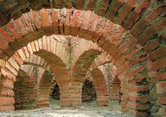 Roman baths in the House of Cantaber, in the Roman settlement of Conimbriga in Portugal. Conimbriga was inhabited between the 9th century BCE and 7th-8th century CE. When the Romans arrived, in the second half of the 1st century BCE, Conimbriga was a flourishing village. Following the collapse of the Empire, Conimbriga suffered the consequences. In 465 and in 468 Suabii captured and plundered the town.