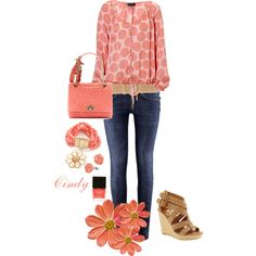 Spring by cindy32tn on Polyvore featuring H&M, Lanvin, Kenneth Jay Lane, Charlotte Russe, Dolce&Gabbana, Butter London, Expresso and Dolce Vita