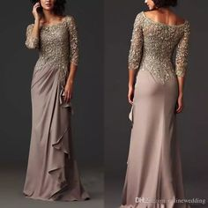 Zuhair Murad Chiffon Evening Dresses 2016 Lace Bateau Mother Of The Bride Groom Dresses Ruffle Long Formal Prom Gowns With Long Sleeves Bm Mother Of The Groom Mother Of The Groom Outfits From Onlinewedding, $99.95| Dhgate.Com