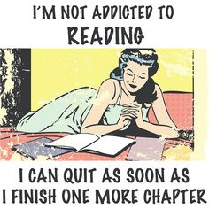 50 Signs You're Addicted to Reading: The first step is admitting you have a problem, and I admit — I have an addiction to reading.