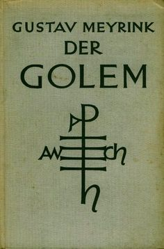 """Résultat de recherche d'images pour """"meyrink golem"""""""